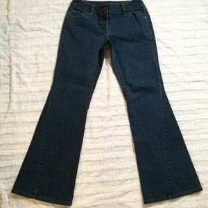 INC Flare Leg Dark Wash Jeans Size 6